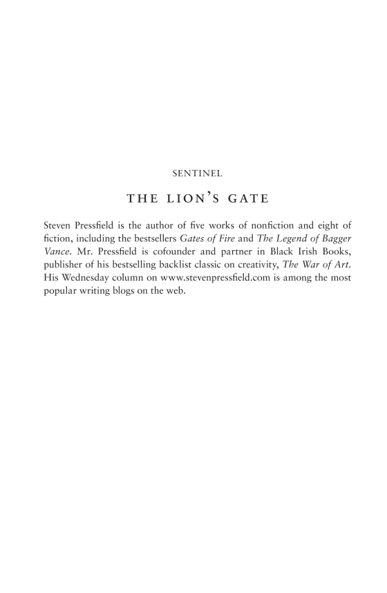 The Lion's Gate - Penguin Random House Education