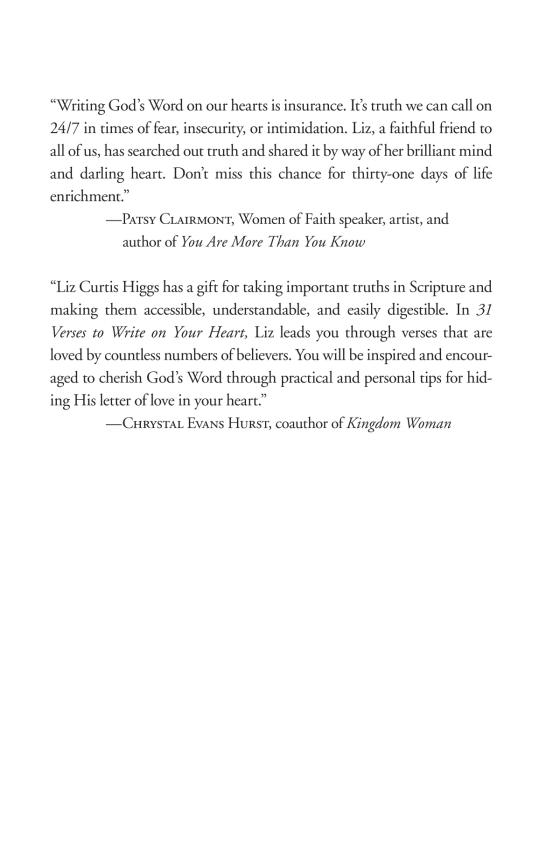 31 Verses To Write On Your Heart Penguin Random House Retail