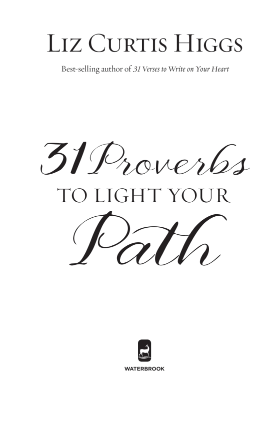 31 Proverbs To Light Your Path Penguin Random House Retail