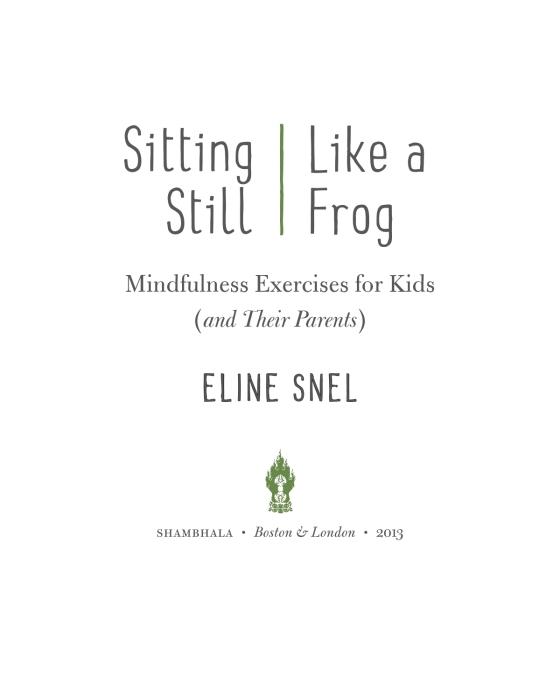 Sitting Still Like A Frog Penguin Random House Education