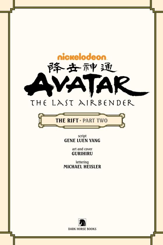 Avatar: The Last Airbender - The Rift Part 2 - Penguin