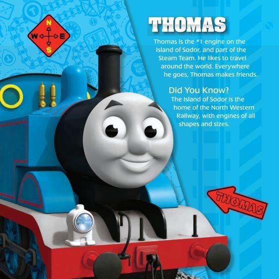 Engines Around the World (Thomas & Friends) - Penguin Random House