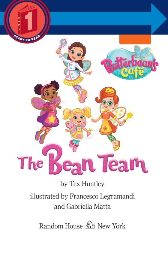 The Bean Team (Butterbean's Café) - Penguin Random House