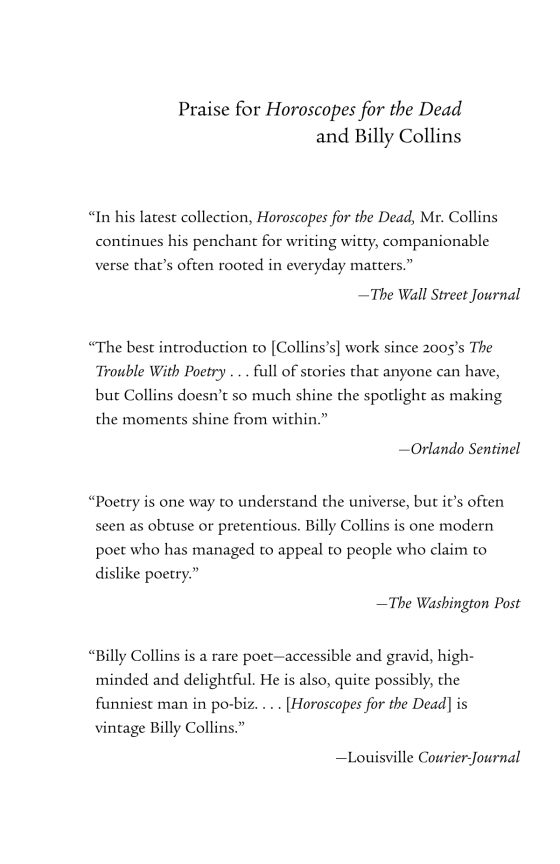 Billy Collins Best Poems 5
